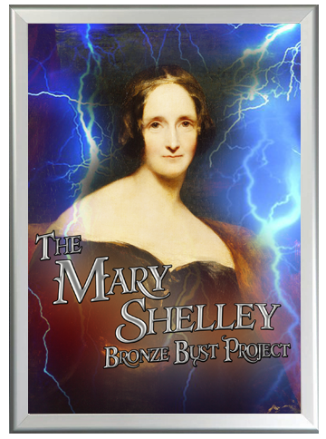 Mary Shelley Bronze Bust Project