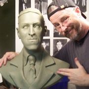 Lovecraft Bust Project