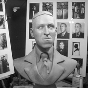 H.P. Lovecraft Bronze Bust Project